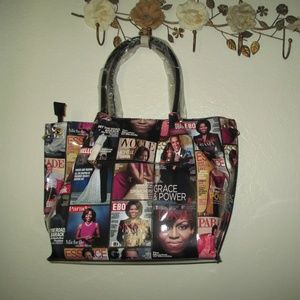 Magazine cover bags